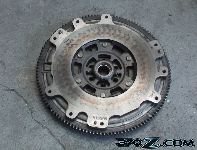 370z dual mass flywheel