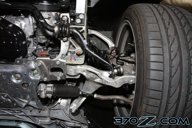 370z front suspension